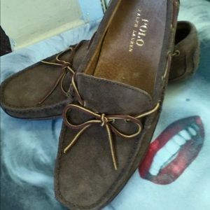 Polo by Ralph Lauren Shoes - Polo by Ralph Lauren Man's Nubuck Driving Shoe NWT